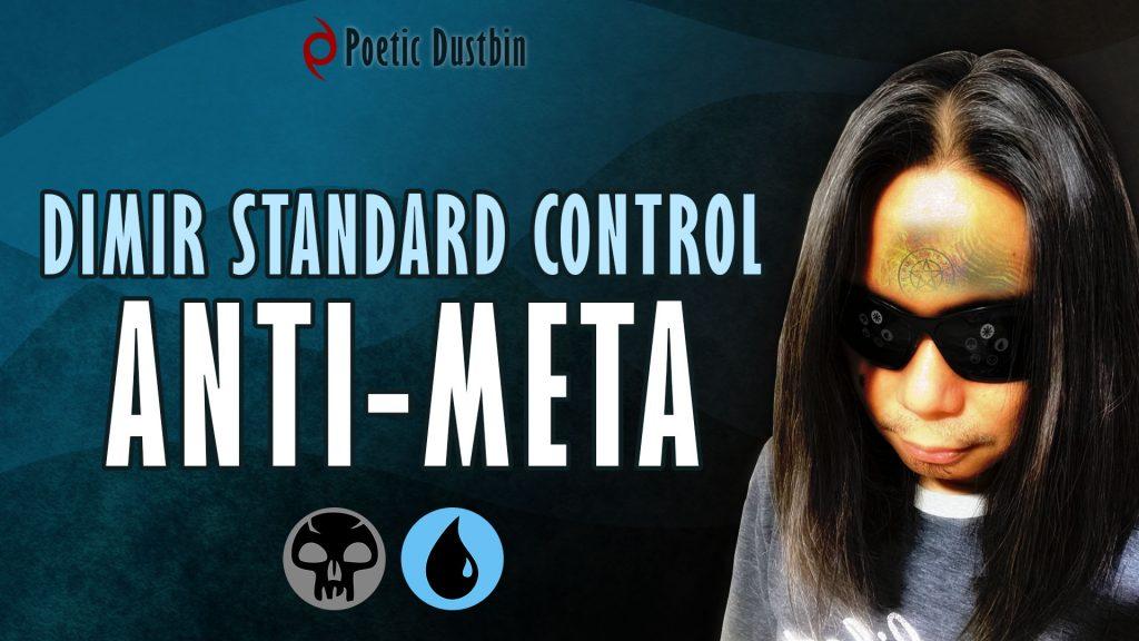 MTG Arena - Standard Dimir Control Deck with Professor Onyx, Ashiok, Ugin and Tibalt Cosmic Impostor - Poetic Dustbin