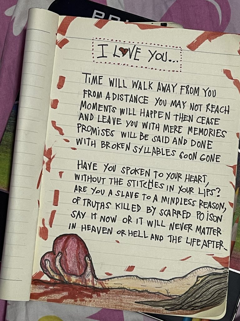 I Love You - A Poem by Poetic Dustbin