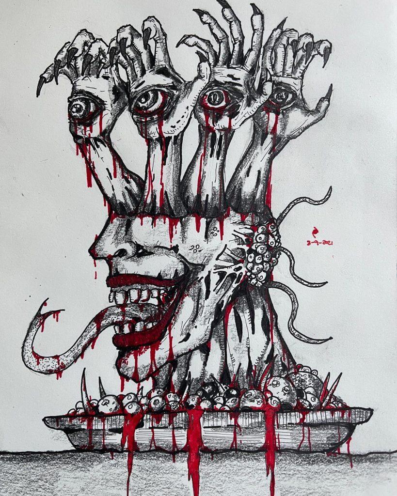Dark Poetry - Dark Art - Eye Serve You