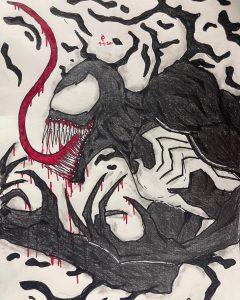 Venom - Dark Art - Poetic Dustbin