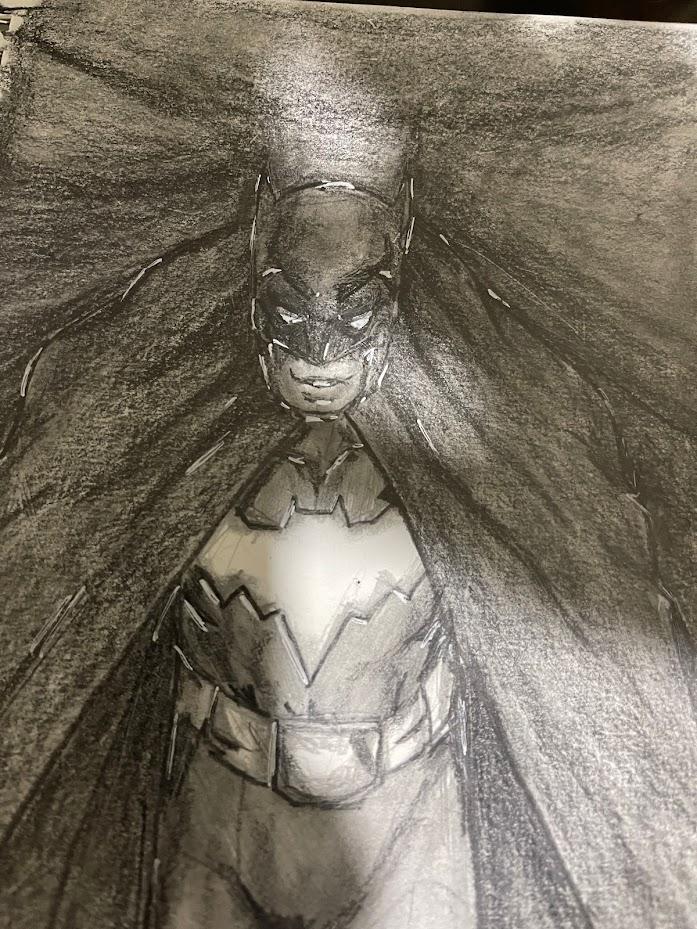 Batman Doodle - Poetic Dustbin