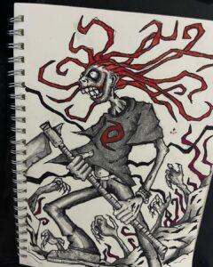 Dark Art - Poetic Dustbin